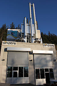Pellets: Anzère - Le plus grand chauffage à distance a pellets en Europe centrale